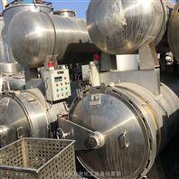 二手3吨不锈钢双层水浴蒸汽式杀菌锅3立方