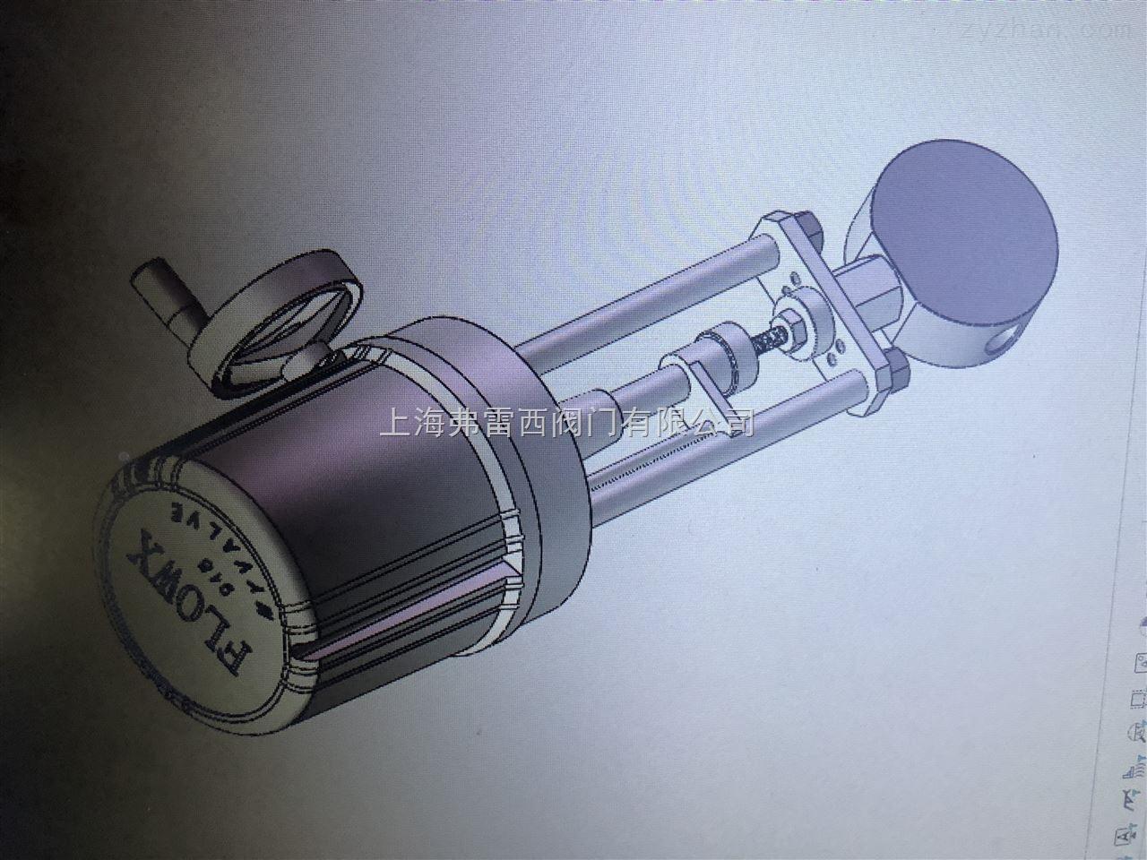 电动针阀作开启或切断管道通路用