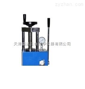 新款5吨手动粉末压片机