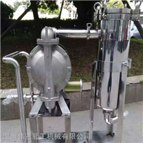 不銹鋼雙聯過濾器 推車式過濾機