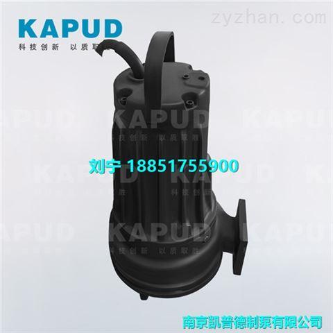 综合污水处理厂AF潜水铰刀泵选型