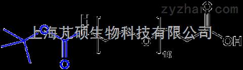 Boc-NH-PEG10-CH2CH2COOH;N/A