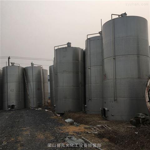 出售二手50立方立式不锈钢储罐 304储存罐