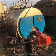 新进二手2吨卧式燃气导热油锅炉