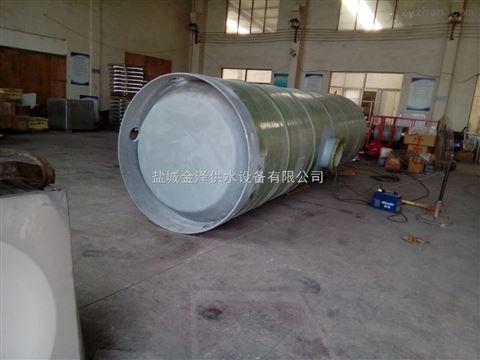 预制式一体化泵站玻璃钢筒体厂家
