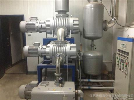 JZJX型罗茨旋片泵真空机组