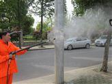 移动式冷水电动高压清洗机 室外广场地面用