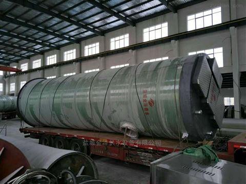 重庆黔江地埋污水提升一体化泵站使用效果