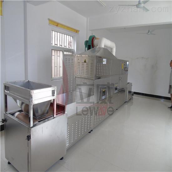 环保高效豌豆微波烘焙机