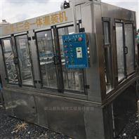 收售二手全自动24头三合一矿泉水饮料灌装机