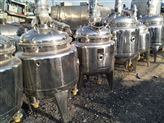 二手500升食品用全不锈钢电加热反应釜