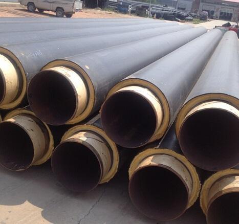 DN355无缝焊接聚氨酯保温管道厂家