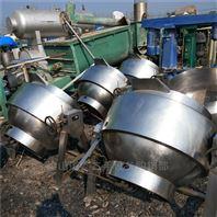 转让二手全不锈钢材质夹层锅