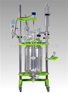 双层玻璃反应釜厂家直销 变频调速