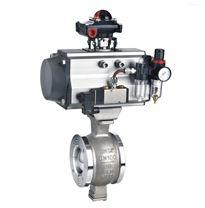 供应VQ671W制药气动V型调节球阀