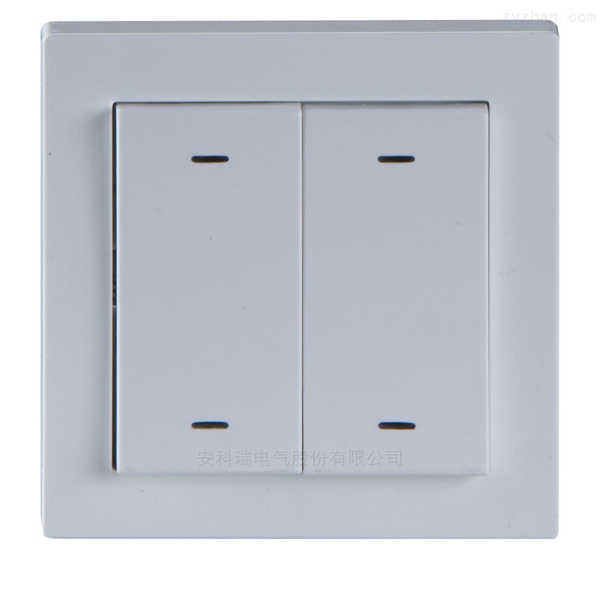 ASL100-F2/4-安科瑞智能照明控制系统2联4键智能面板