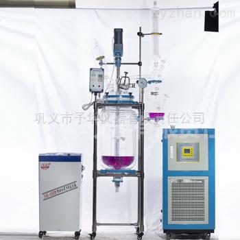 YSF系列变频调速双层玻璃反应釜