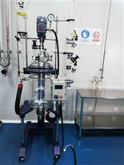 YSF-(EX)自动升降玻璃反应釜理想实用,国内同行*