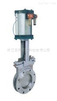 DMZ973X-F-H-Y电动暗杆刀形闸阀