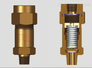 生产厂家 安全阀022W10081-000 1-5/16