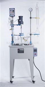 巩义予华仪器  大口径单层玻璃反应釜