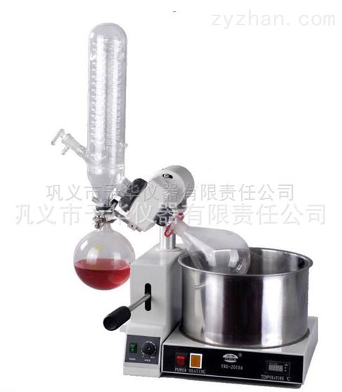 小型旋转蒸发器智能控温压杆型