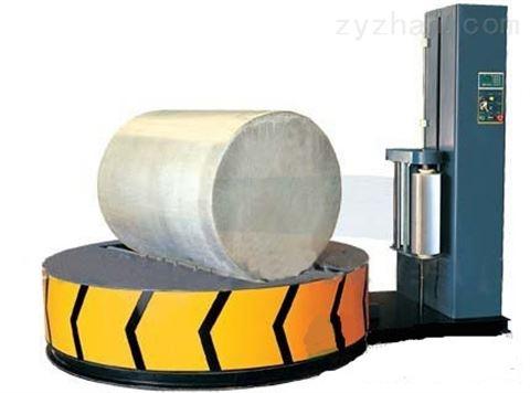 佛山自动缠绕膜机带摩擦阻尼的缠绕包装机