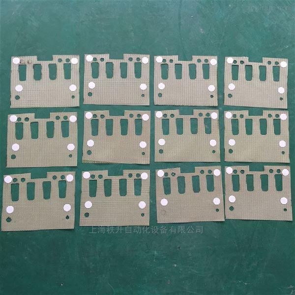 自动平面双机头双标签贴商标设备