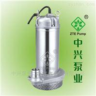 精密铸造污水污物潜水电泵   不锈钢污水泵