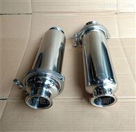卫生级不锈钢过滤器规格形式型号