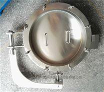 圆形耐压 内外镜面 吊环形 法兰人孔550MM