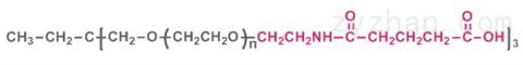 三臂聚乙二醇戊酸,3-arm PEG-GAA