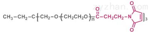 三臂聚乙二醇马来酰亚胺(酯键)