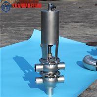 不锈钢两位四通气动焊接换向阀
