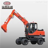 新疆輪式挖掘機市場暢銷寶鼎挖機
