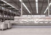 五谷杂粮熟化设备采用连续式微波干燥机