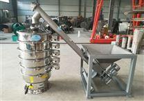螺旋振動輸送機振動篩配套輸 送機使用