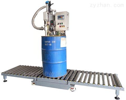 化工全自动油漆灌装机 小型自喷灌装设备