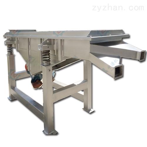 不锈钢复合肥振动分级筛选机_  