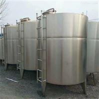 梁山低价处理40立方的不锈钢储罐