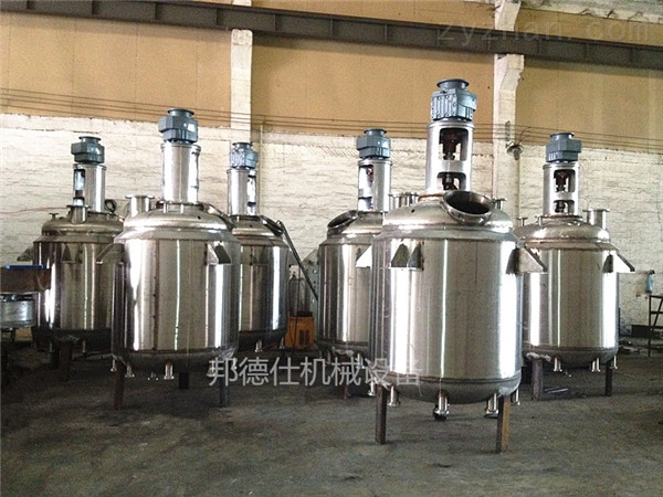 供应广东夹套反应釜 白乳胶成套生产设备