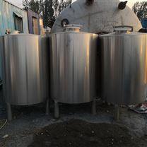 耀辉二手3吨不锈钢储奶罐