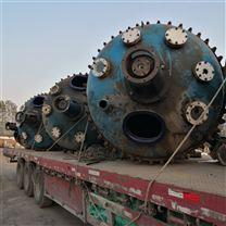 二手3噸5噸不銹鋼搪瓷反應釜應用