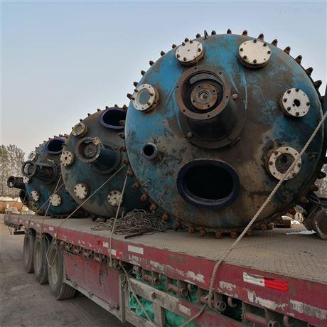 二手3吨5吨不锈钢搪瓷反应釜