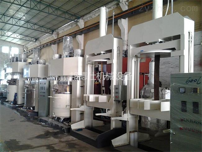 江西强力分散机 广东硅酮密封胶生产设备