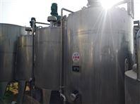 梁山二手2.3.4.5吨不锈钢发酵罐
