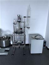 專業生產雙層玻璃反應釜100L