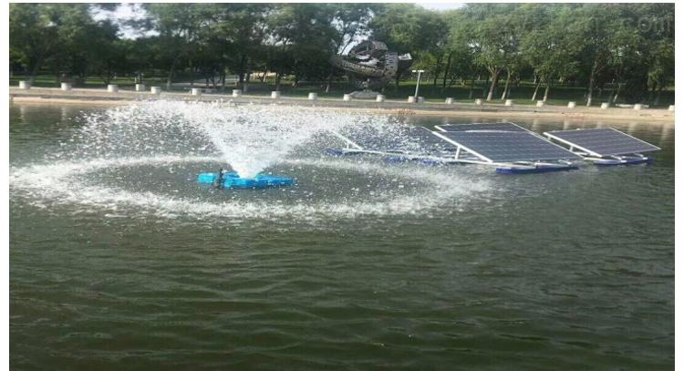 景觀水處理 噴泉曝氣機