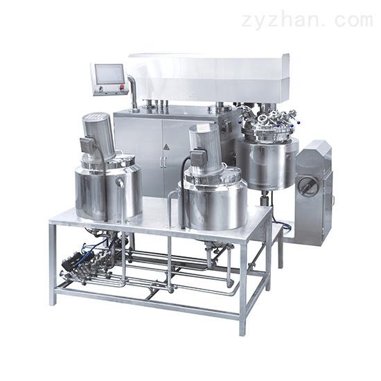 膏霜类成套设备生产流水线