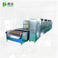 隧道式微波米線殺菌機增加產量且省人工